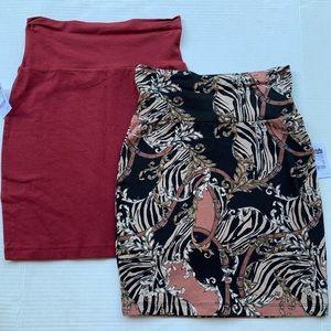 Bundle of Stretch Mini Skirts